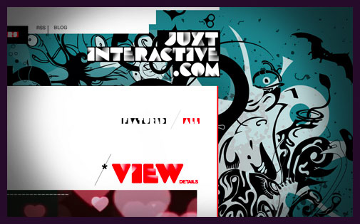 JUXTinteractive.com Screenshot